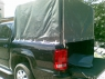 Крышка кузова Volkswagen Amarok распашная, аллюминий