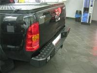 Задний бампер Toyota Hilux с калиткой