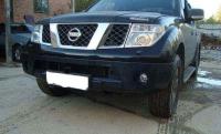 Передний бампер Nissan Navara D40/Pathfinder